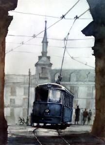 El tranvía, el tren urbano
