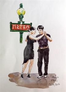 Tango en el metro