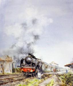 Locomotora de vapor 230 0 353