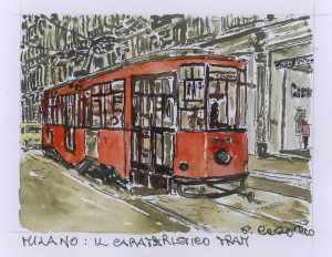 Milano: Il Carateristico Tram