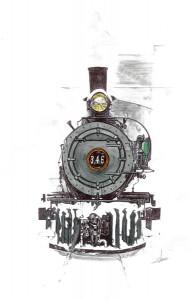 Locomotora 346