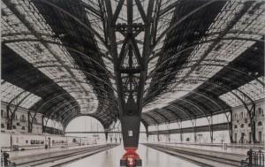 Train Station Barcelona