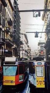 Trams per via Orifici, Milano