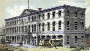 3rd Avenue Rail Road Depo NY 1860