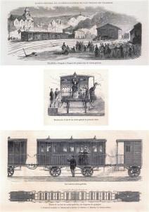 Tren de coches galería