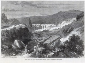 Valley of St. Ann and river Melas, with the first aqueduct near Smyrna