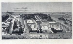 Vista general del excolegio de padres Jesuitas de Vaugirard en París