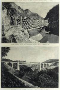 Inauguración oficial del ferrocarril a La Coruña