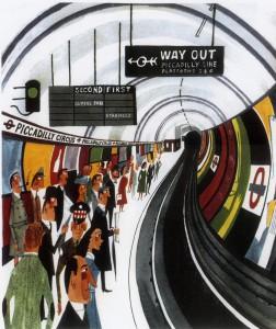 Picadilly Circus Underground Station