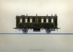 Salonwagen Reichskansler Furst Otto Von Bismarck