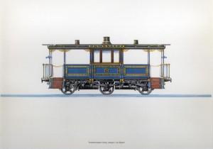 Terrasen Wagen Konig Ludwigs II von Bayern