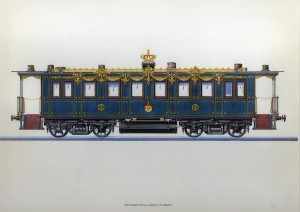 Salonwagen Konig Ludwigs II Von Bayern-Grabado-Desconocido-39x30cm