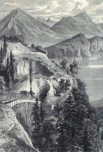 Chemin de Fer du Rigi Canton de Schwyz, Suisse