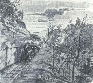 Bahn nach Honau