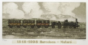 Barcelona-Mataro, 1818-1998
