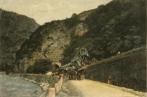 Das Fifenbahnnungluck bei Blumau an der Brenner Bahn
