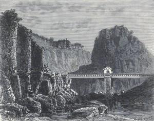 Felfen von Sainte Madelaine bei Planchamp