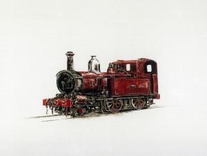 Locomotora Roja