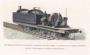Los trenes eléctricos en Francia Locomotora Electrica Sistema