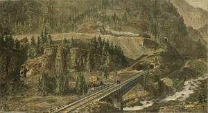 Von der Ghottardbahn die  Tunnels  Des Monte Piottino
