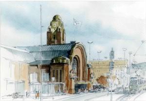 Copenhague Station