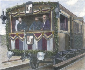Le voyage des Ministres en Algerie Le wagon Salon Ministeriel