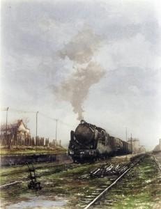 Tren mercante