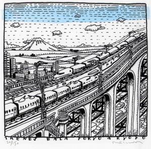 Tren bala de Tokyo a Kyoto