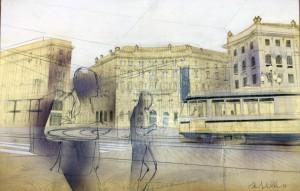 Tram per le strade di Milano 01