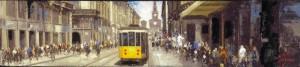 Tranvía en Milan