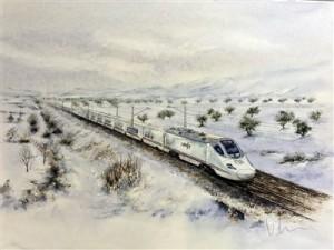 Talgo S-102- tren eléctrico de Alta Velocidad