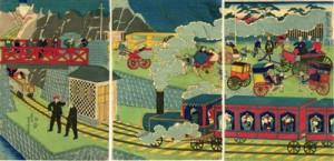 Locomotora en Tokio